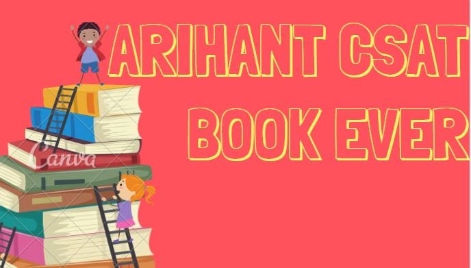 Arihant Csat BOOK